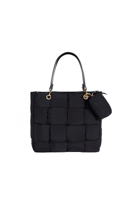 Shopper Bag QUILTY Black M