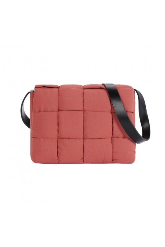 Crossbody Bag QUILTY Brick Red S