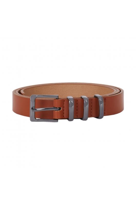 Medium Width Belt Camel U