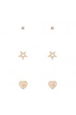 Set of Earrings GOLDEL Gold U