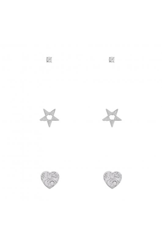 Set of Earrings SILDEL Silver U