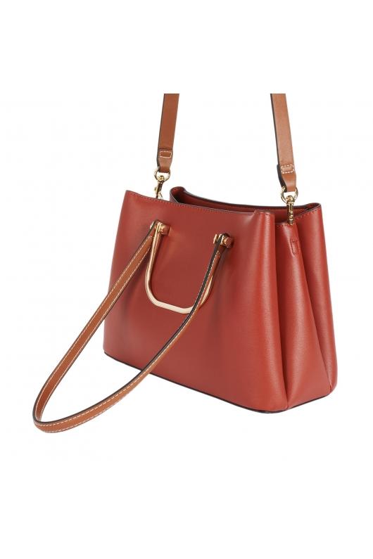 Shopper Bag KITSH Brick Red M