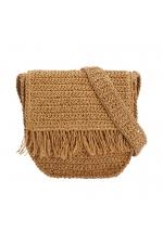 Crossbody Bag NAIROBI TOTAL LOOK Straw M