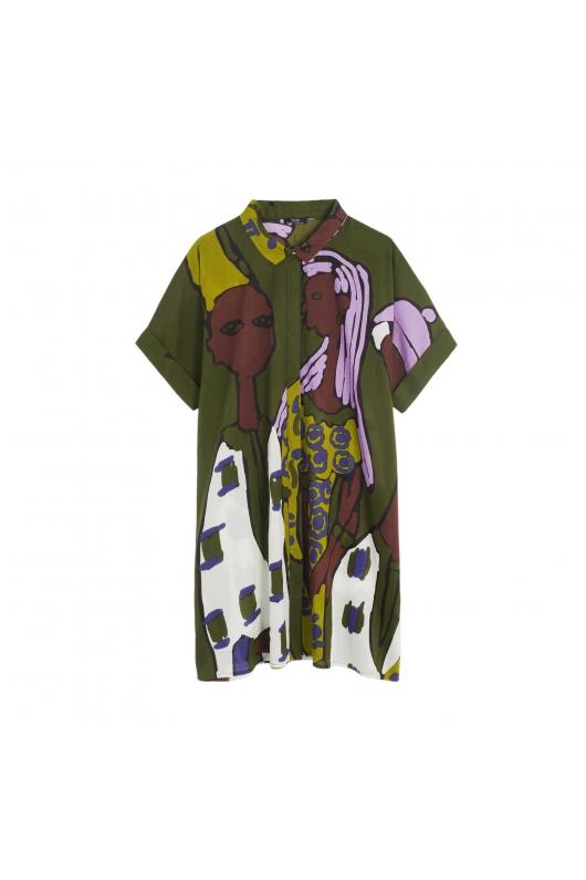 Dress NAIROBI TOTAL LOOK Green U