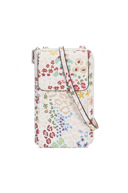 Wallet BASIC MIX FLOWER Ecru L