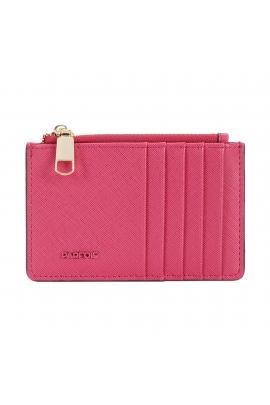 Card Holder BASIC MIX FLOWER Dark Pink M