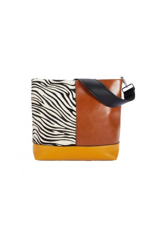 Shopper Bag YORK2 Camel M