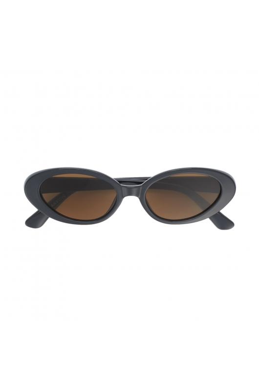 Oval Sunglasses Anthracite