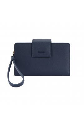 Wallet BASIC MIX FLOWER Navy L