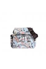 Crossbody Bag QUICK Grey L