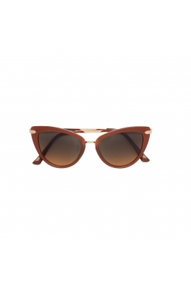Cat Eye Sunglasses Rust