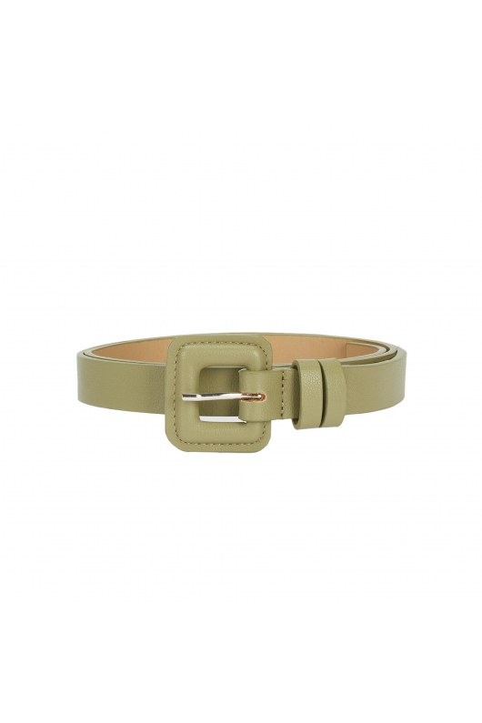 Medium Width Belt Light Green U