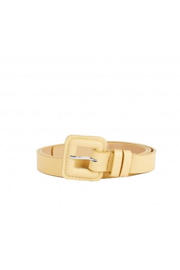 Medium Width Belt Yellow U