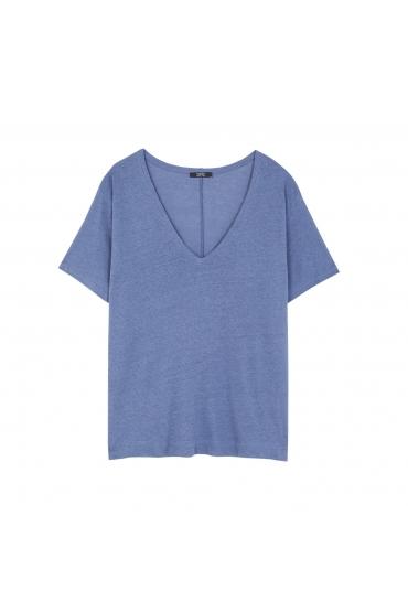 T-shirt PALM BEACH Blue