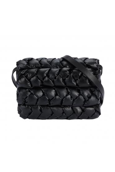Crossbody Bag BRAIDED Black M