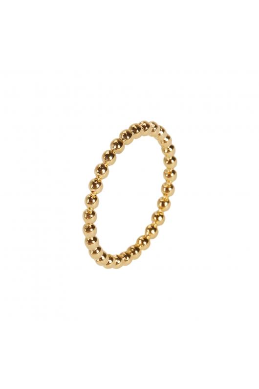 Ring STAINLESS STEEL GOLDEN Gold