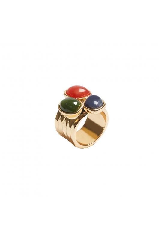 Ring BOREAL WIND Halftone Multicolor