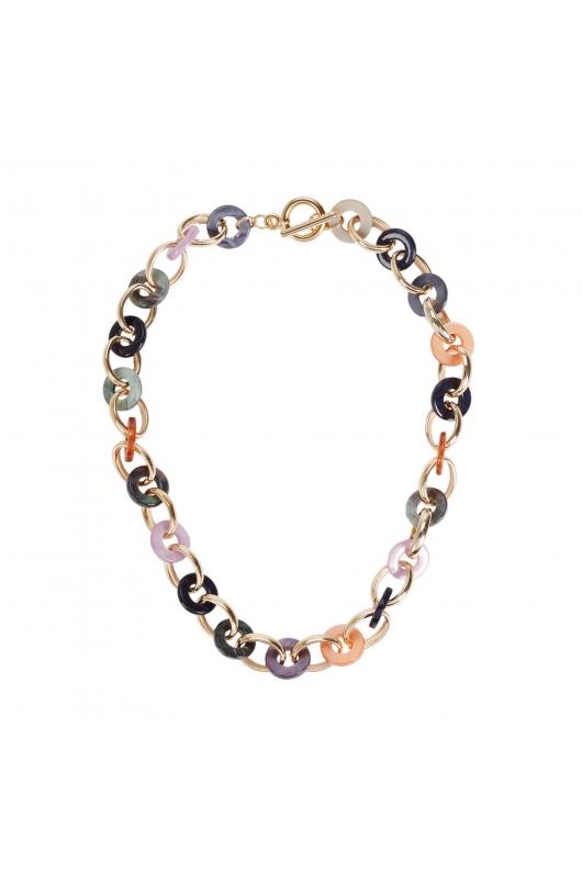 Necklace BOREAL WIND Halftone Multicolor