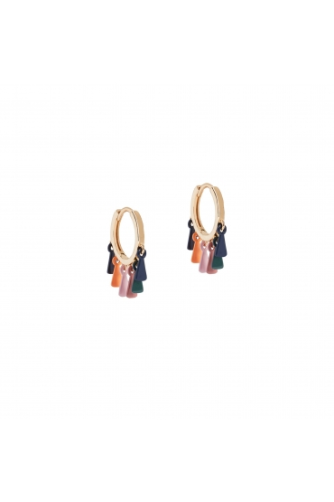 Earring BOREAL WIND Halftone Multicolor