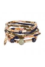 Set of Bracelets BOREAL WIND Halftone Multicolor