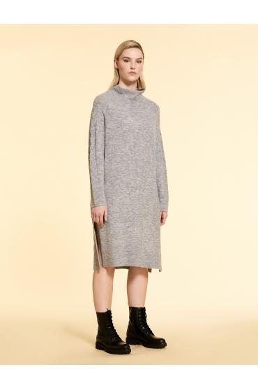 Rochie tricot, stil pulover