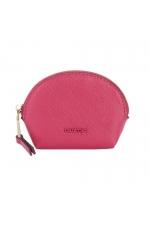 Coin Purse BASIC MIX FLOWER Dark Pink S