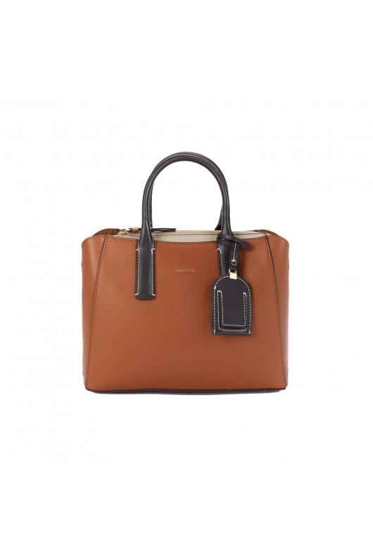 Shopper Bag MAY Camel M