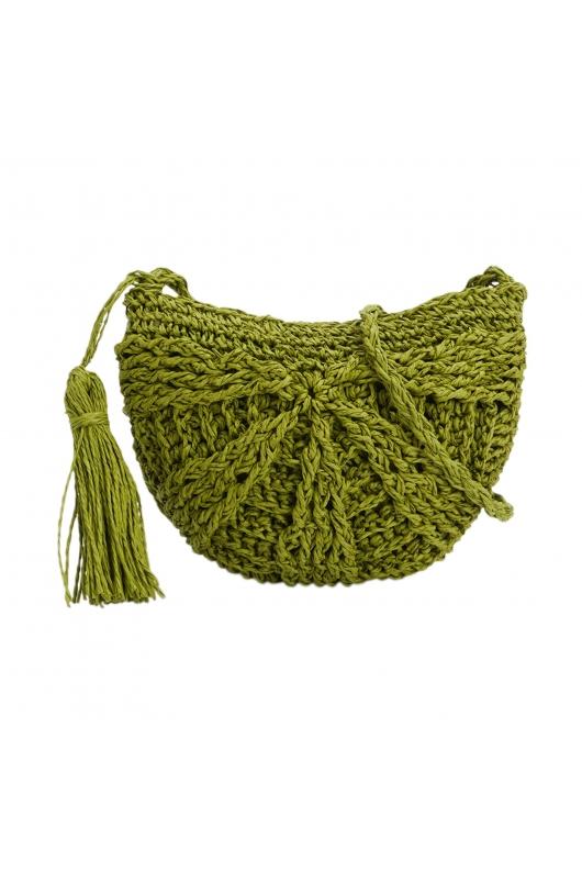 Crossbody Bag BEACH WAVES Green S
