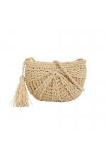 Crossbody Bag BEACH WAVES Straw S