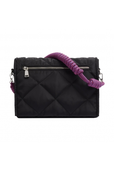 Crossbody Bag WRINK1 Black L