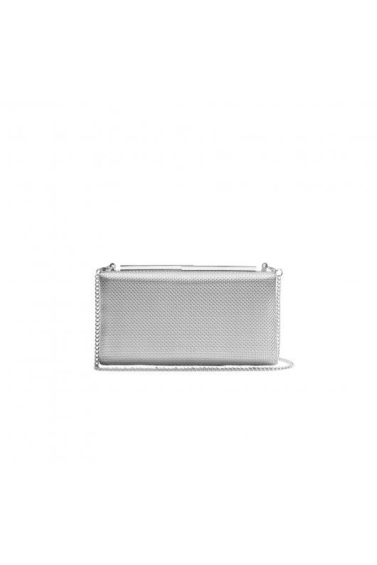 Box Bag ENFIN Silver S