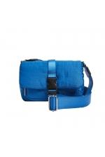 Crossbody Bag BRAIDED Blue S