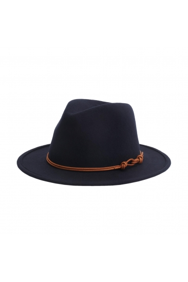 Fedora Hat CLAMS Navy U