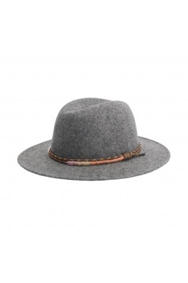 Fedora Hat SCAMPI Grey U