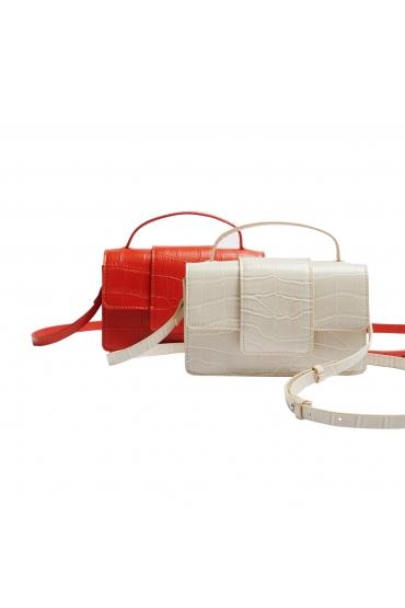 Hand Bag OCTOPUS Ecru S