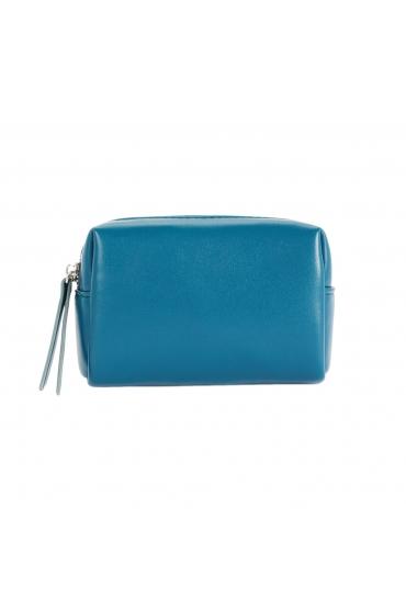 Multipurpose Purse Pillow Blue S