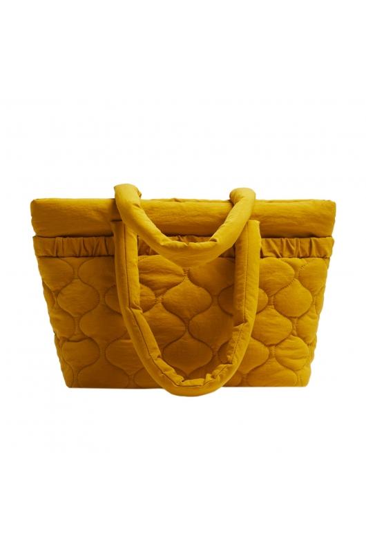 Shopper Bag WRINK3 Yellow M