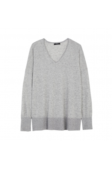 PULOVER LATERAL Grey U