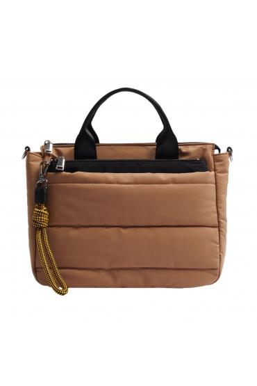 Tote Bag WRINK2 Camel M
